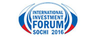 The Sochi  International Investment  Forum 2016